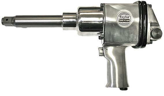 Taylor Pneumatic T-7773L 6 in. Extended Anvil with Pin Clutch