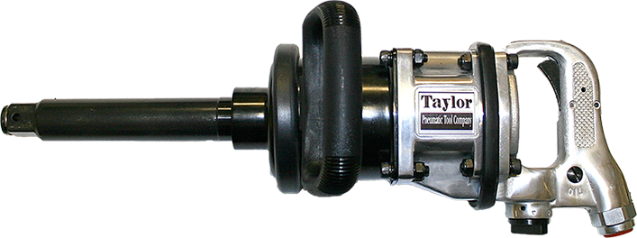 Taylor Pneumatic T-7796LAN-6 1 in. Straight Handle Impact Wrench