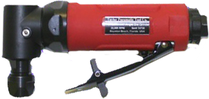"Taylor Pneumatic T-8759R 1/4"" Rear Exhaust Angle Die Grinder"