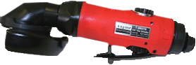 "Taylor Pneumatic T-8801R 4"" Extended Angle Grinder"