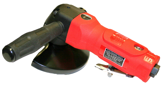 "Taylor Pneumatic T-8815 5"" Angle Grinder with 5/8""-11 spindle"