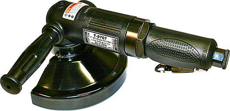 "Taylor Pneumatic T-9707 7"" Angle Grinder"