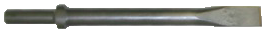 "Taylor Pneumatic T-1108 Cold Chisel 12 - 1"" wide"