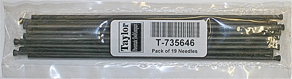Taylor Pneumatic T-735646 Individual Pack - 19 needles