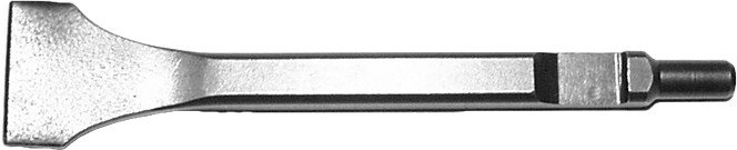 "Taylor Pneumatic T-7356A8 1 1/4"" Angle Chisel"